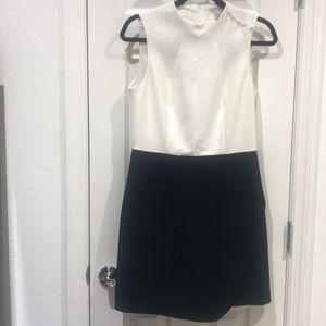 Black & White  H & M Dress Size 10